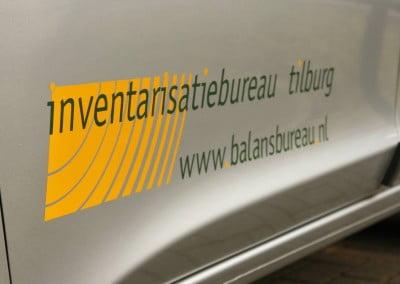 Inventarisatiebureau Tilburg belettering