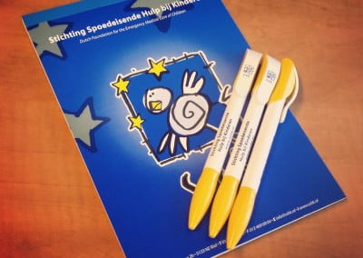 SHK pennen en notitieblokken laten bedruken