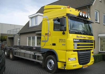Ace Media Reclame Goirle Vrachtwagen belettering (BWT)