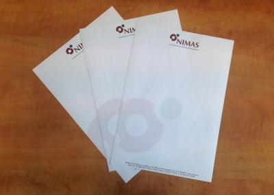 briefpapier printen