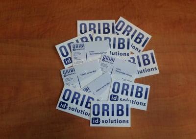 Visitekaartjes Oribi Oisterwijk