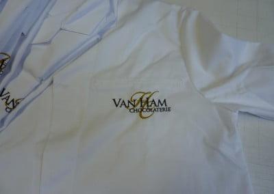 Van Ham Werkkleding geborduurd