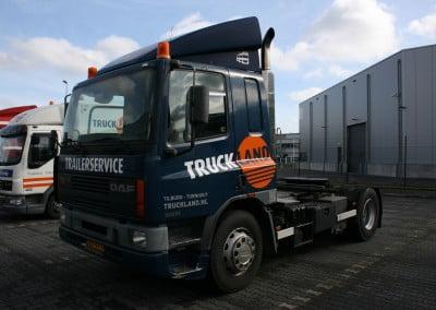 Vrachtwagen laten beletteren