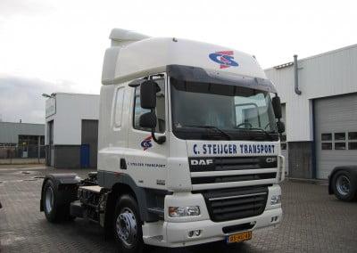 vrachtwagen laten bestickeren