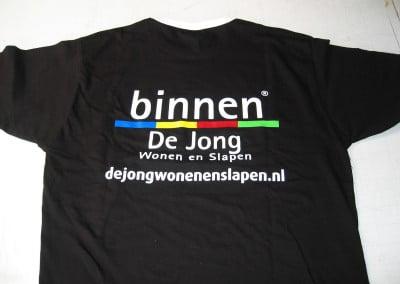 Zeefdrukken t-shirts