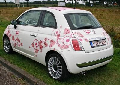 Lelli Kelly Fashion Car belettering full-colour print