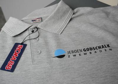 Werkkleding voorzien van logo