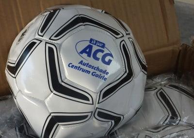 ACG Voetballen met logo