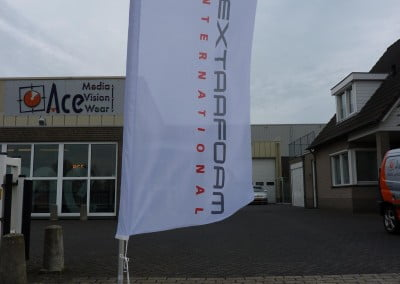Ace Media Reclame Goirle (Beachflags)