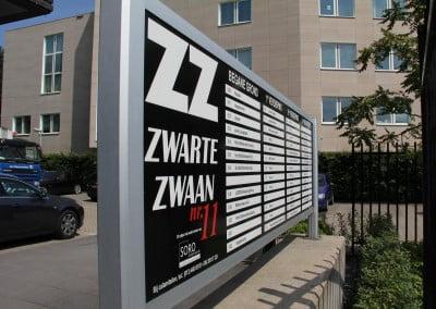Ace Media Reclame Goirle (Zwarte Zwaan Belettering)