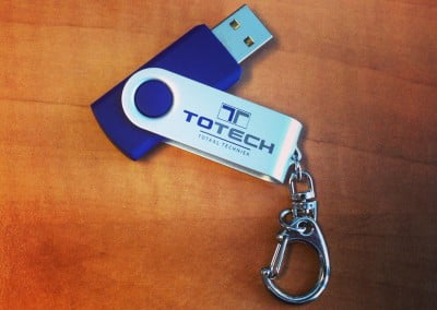 USB stick met logo