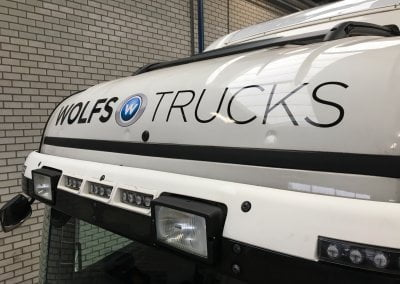 vrachtwagen stickers tilburg