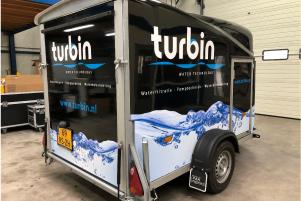 Turbin-aanhangwagen